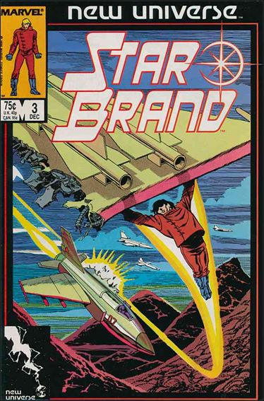 Star Brand 3-A by Marvel