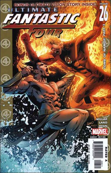 Ultimate Fantastic Four 26-A by Marvel