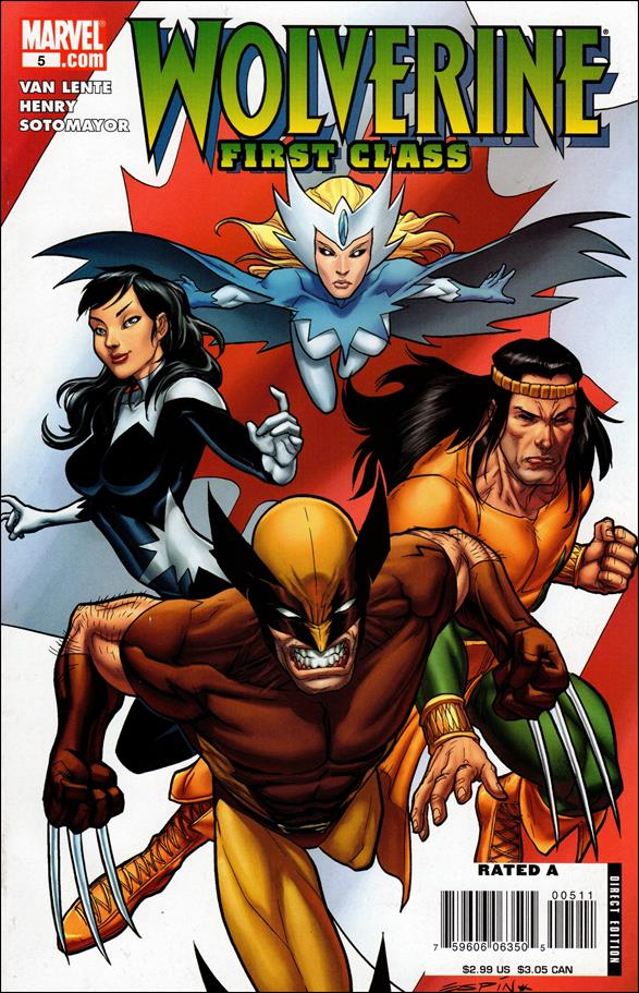 Wolverine: First Class 5-A by Marvel