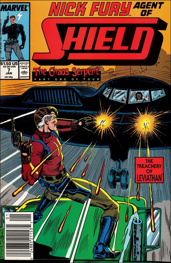 Nick Fury, Agent of S.H.I.E.L.D. (1989) 7-A by Marvel