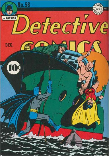 Detective Comics (1937) 58-A by DC
