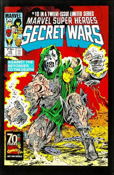 Marvel Super Heroes Secret Wars 10-C by Marvel