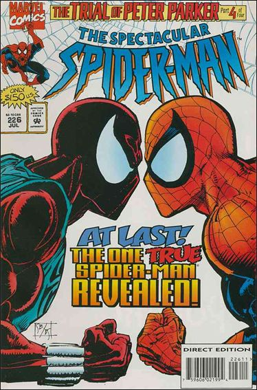 Spectacular Spider-Man (1976) 226-A by Marvel