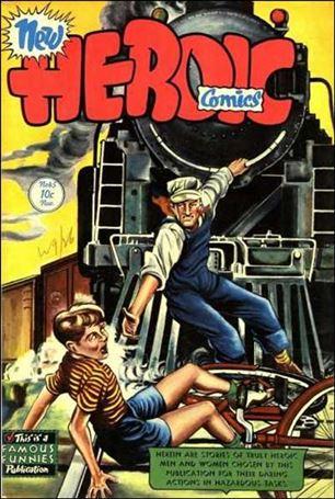 New Heroic Comics 45-A