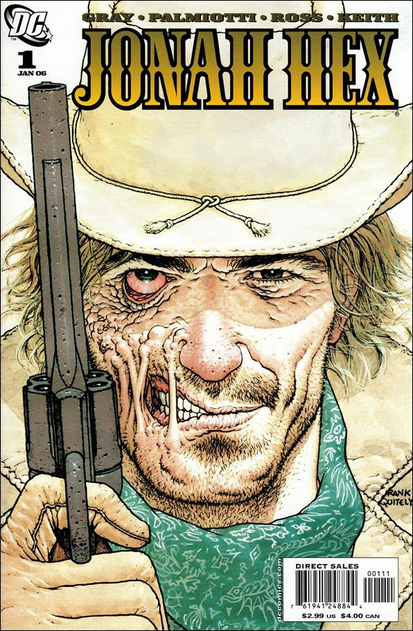 Jonah Hex (2006) 1-A by DC