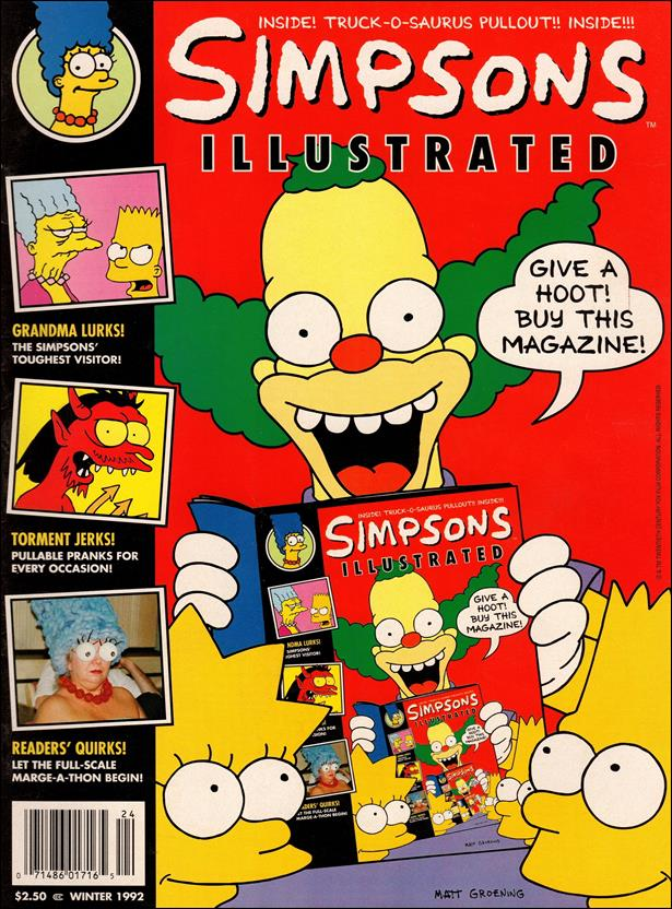 Simpsons Illustrated 4-A by Welsh Publishing Group