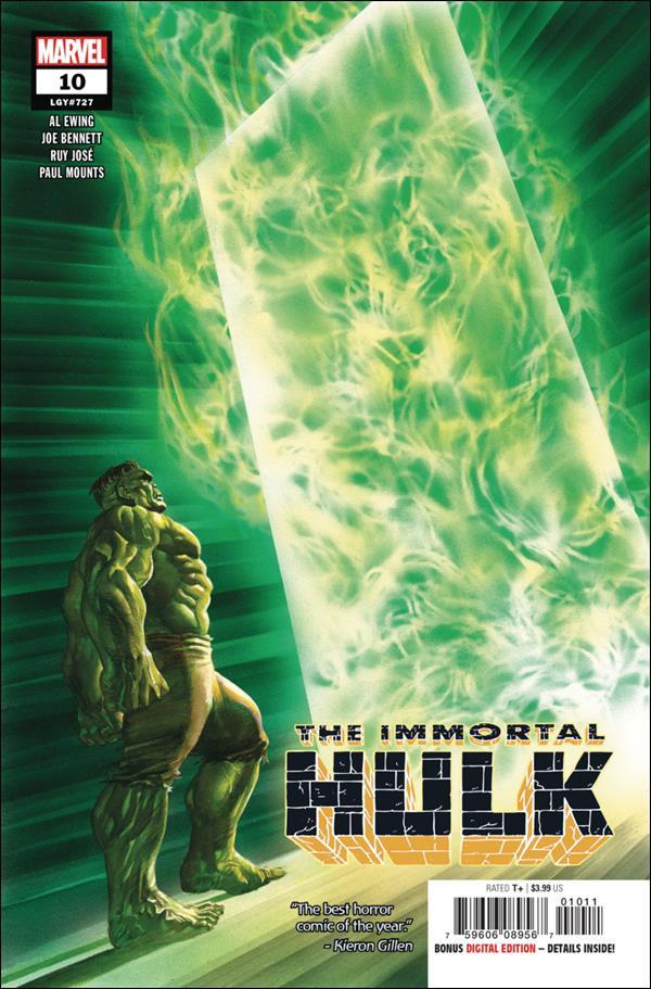 Immortal Hulk 10-A by Marvel