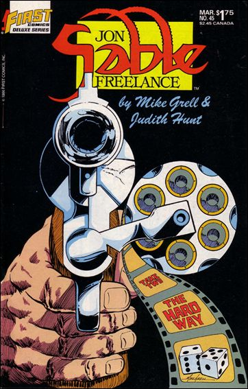 Jon Sable, Freelance 45-A by First