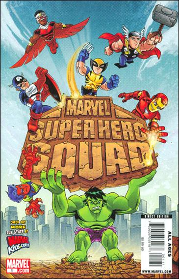 Marvel Super Hero Squad (2009) 1-A by Marvel