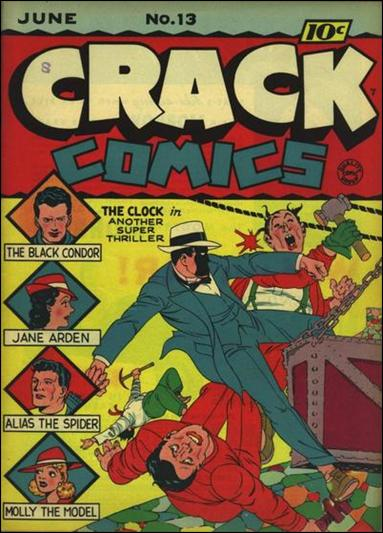 Crack Comics 13-A by Quality