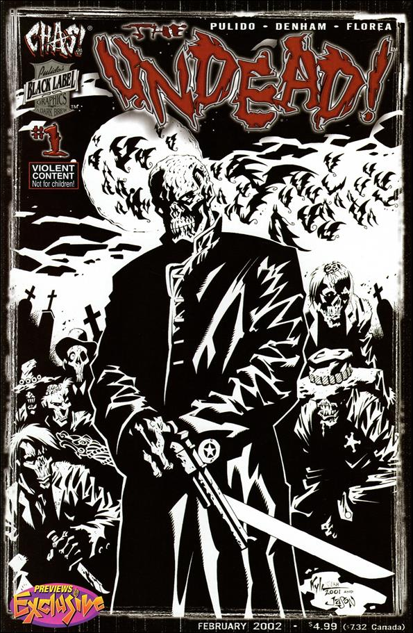 Undead 1-B by Chaos! Comics