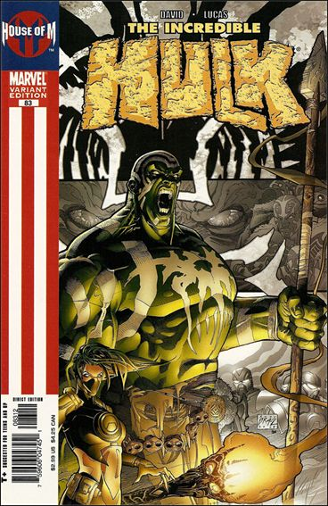 Incredible Hulk (2000)  83-B by Marvel