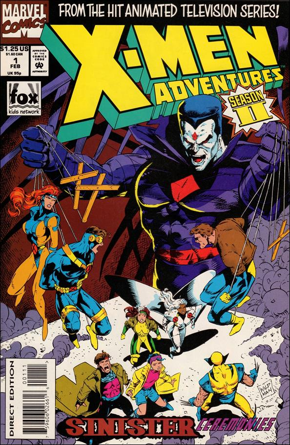 X-Men Adventures (1994) 1-A by Marvel