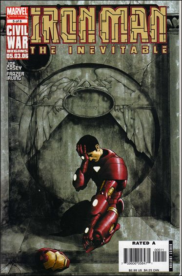 Iron Man: Inevitable 5-A by Marvel