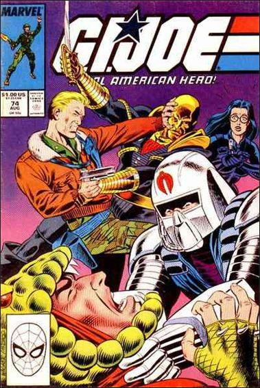 G.I. Joe: A Real American Hero 74-A by IDW