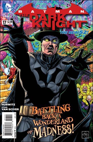 Batman: The Dark Knight (2011/11) 17-A by DC