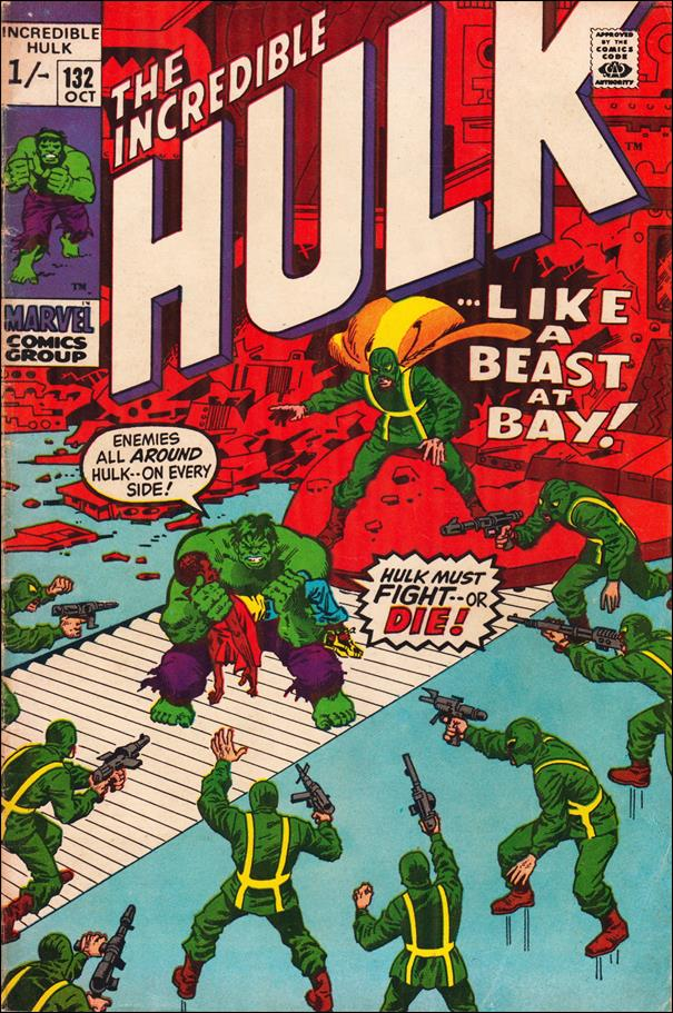 Incredible Hulk (1968) 132-B by Marvel