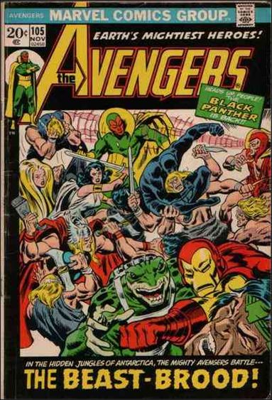 Avengers (1963) 105-A by Marvel