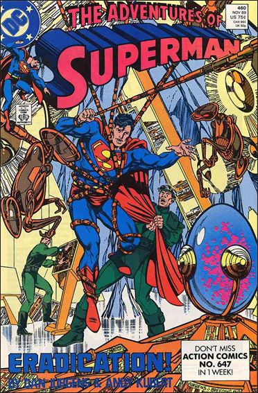 Adventures of Superman (1987) 460-A by DC
