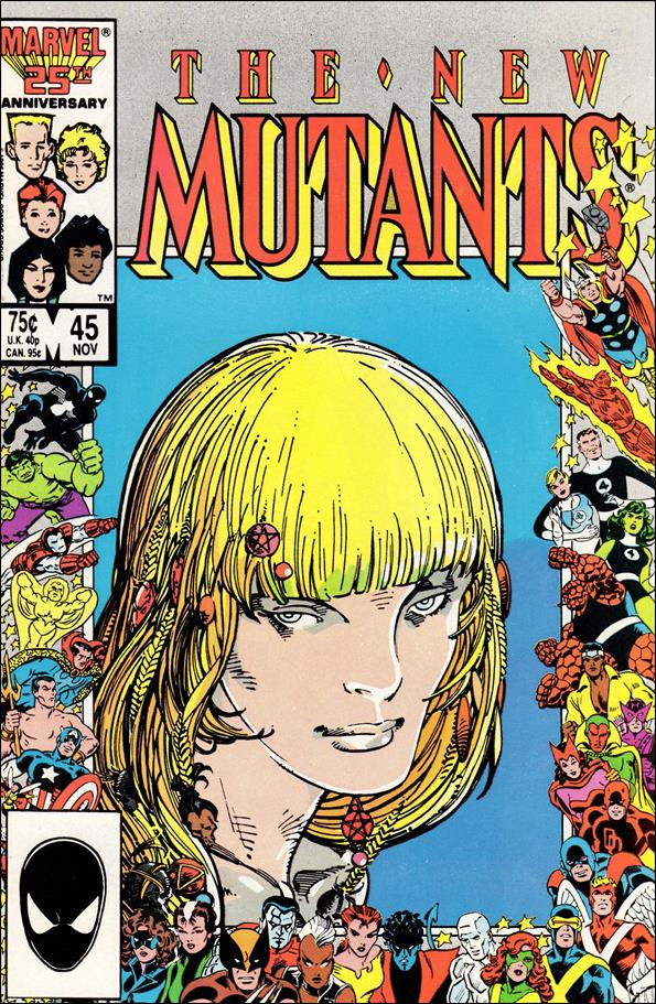 New Mutants (1983) 45-A by Marvel