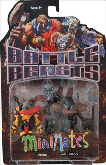 Battle Beasts Minimates Vorin and Vachonus by Diamond Select