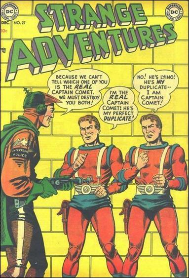 Strange Adventures (1950) 27-A by DC