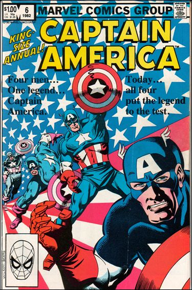 Captain America Annual 6-A by Marvel