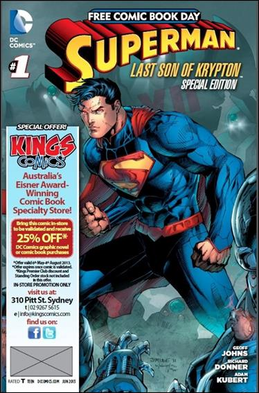 Superman: The Last Son of Krypton FCBD Special Edition 1-P by DC