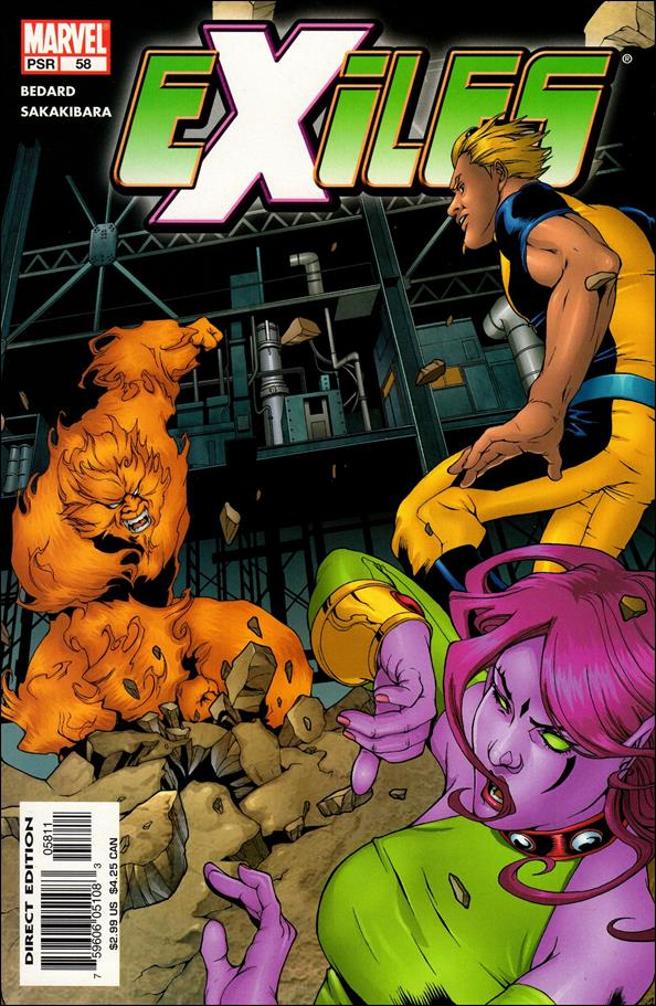 Exiles (2001) 58-A by Marvel