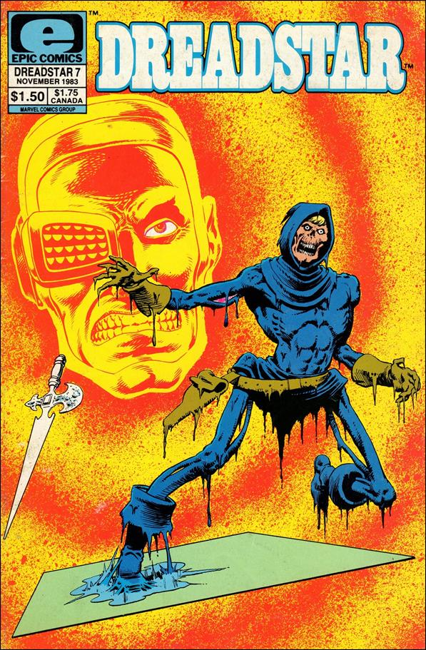 Dreadstar (1982) 7-A by Epic
