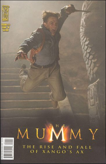 Mummy: The Rise and Fall of Xango's Ax 1-A by IDW