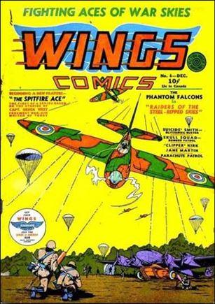 Wings Comics (1940) 4-A