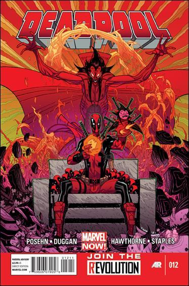 Deadpool (2013) 12-A by Marvel