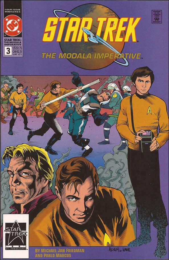Star Trek - The Modala Imperative 3-A by DC