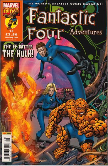 Fantastic Four Adventures (UK) 38-A by Marvel UK