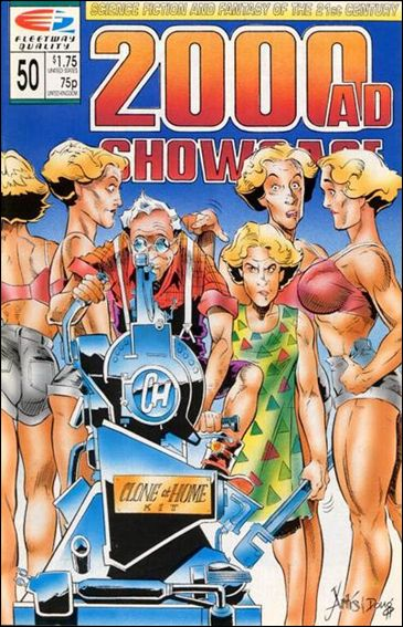 2000 A.D. Showcase (1988) 50-A by Quality Comics