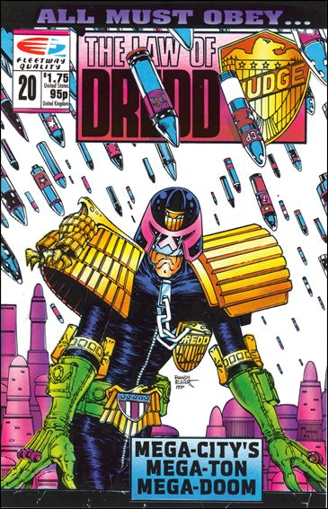 Law of Dredd 20-A by Fleetway Quality