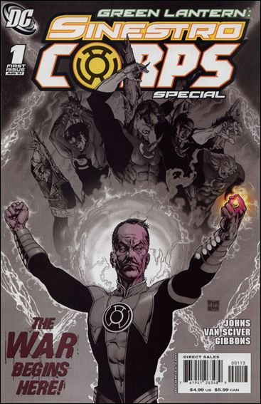 Green Lantern Sinestro Corps Special 1-C by DC