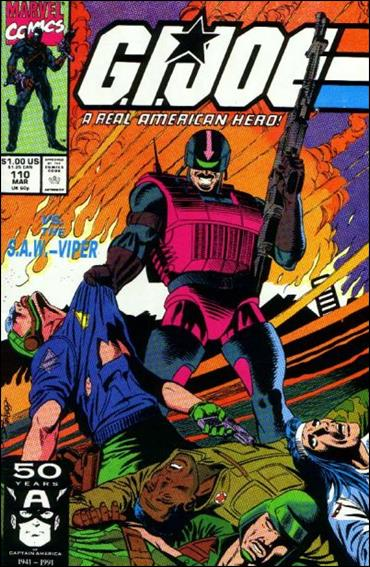 G.I. Joe: A Real American Hero 110-A by IDW