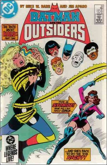 Batman and the Outsiders (1983) 20-A by DC