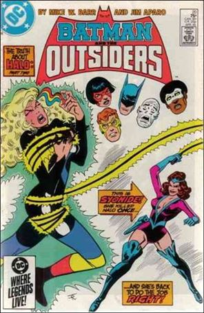 Batman and the Outsiders (1983) 20-A