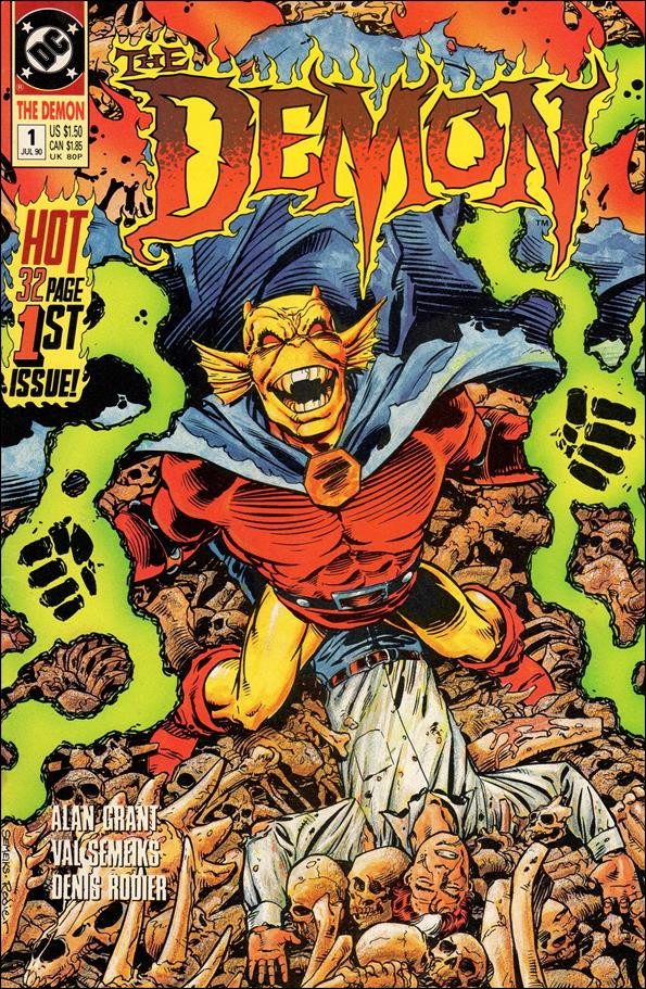 Demon (1990) 1-A by DC