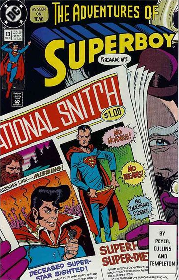 Superboy (1990) 13-A by DC