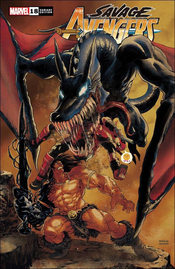 Savage Avengers 18-B by Marvel
