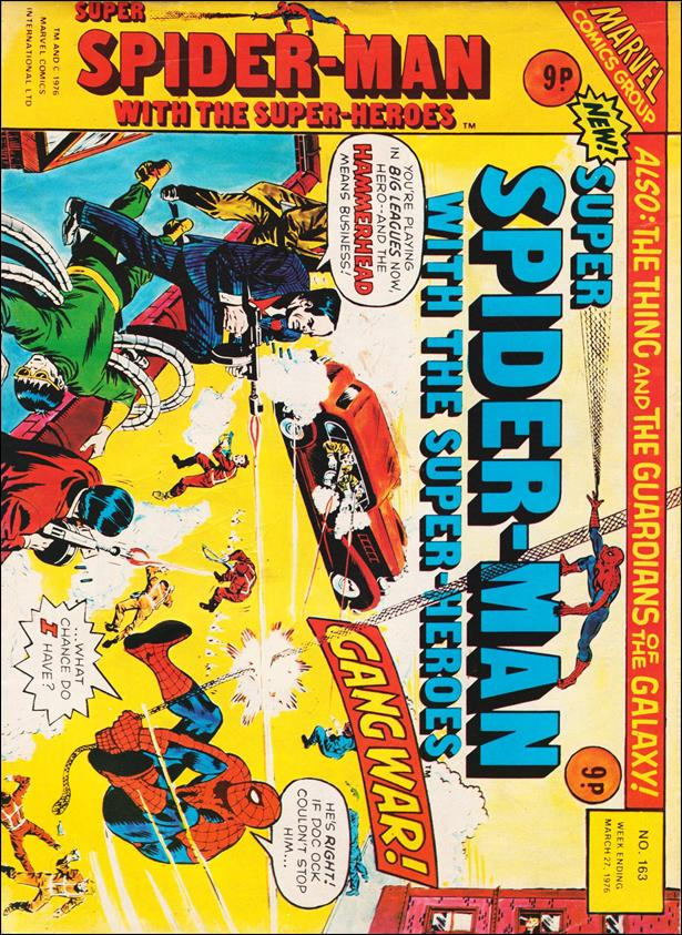 Spider-Man: Comics Weekly (UK) 163-A by Marvel UK