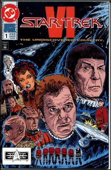 Star Trek Movie Special ''1''-A by DC