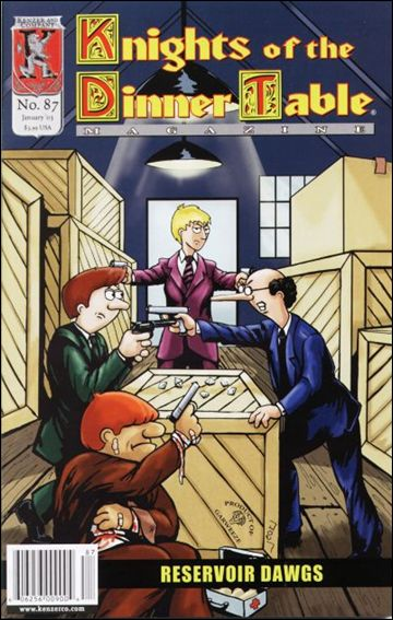 Knights of the Dinner Table (1997) 87-A by Kenzer and Company