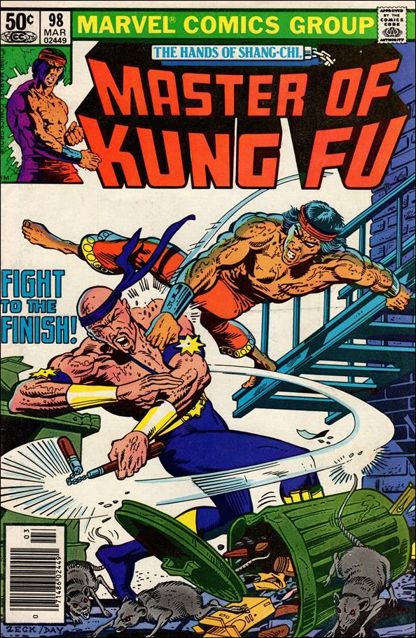 Master of Kung Fu 98-A by Marvel