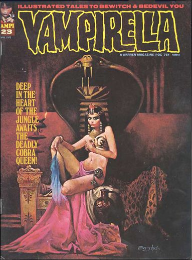 Vampirella 23-A by Warren