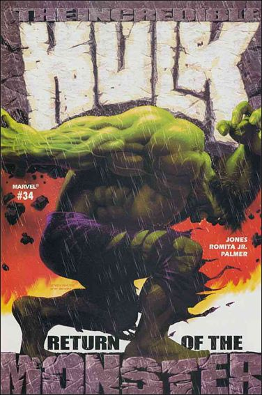 Incredible Hulk (2000)  34-A by Marvel